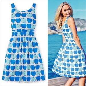 Boden apple dress size 8